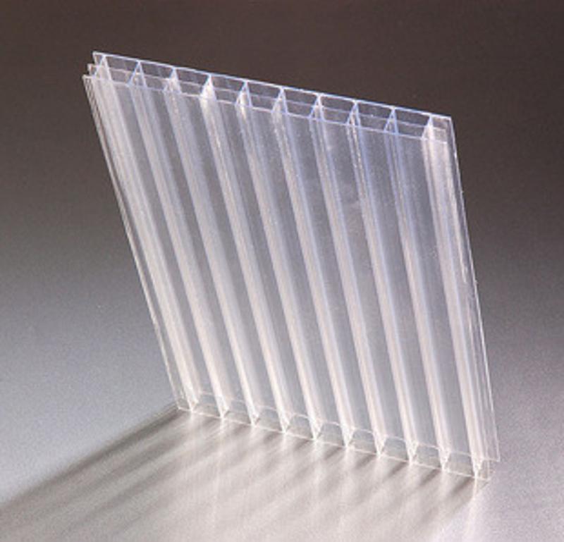 【廠家直銷】PC陽光板 茶色雙層陽光板 超強耐候性PC陽光板