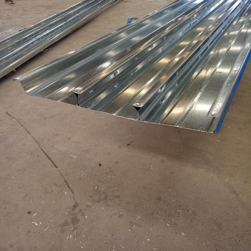 胜博 YXB65-220-660型闭口式楼承板Q235承重板 0.7mm-1.2mm厚首钢镀锌压型楼板300mpa楼承板