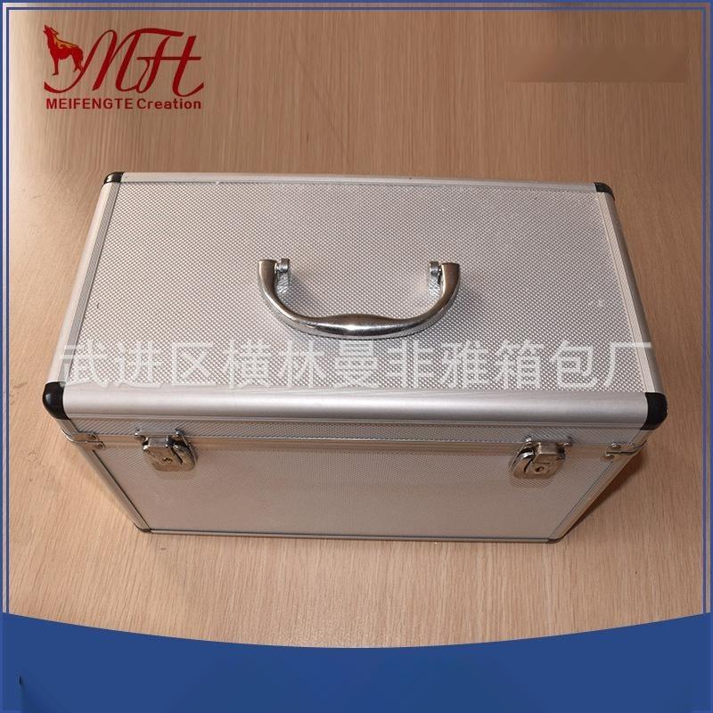 供应铝合金五金工具仪器箱 定制多规格铝合金设备箱内部eva防震垫