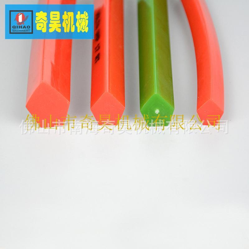 五角形光面聚氨脂PTU输送带,机械设备配件