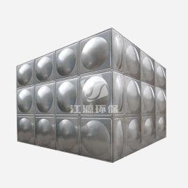 定制加工组合式不锈钢水箱 不锈钢方形消防生活水箱 多功能水箱