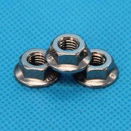 厂家直销 供应DIN6923不锈钢六角法兰螺母