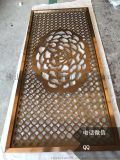 为什么铝板雕刻玫瑰金屏风一定要做无指纹?