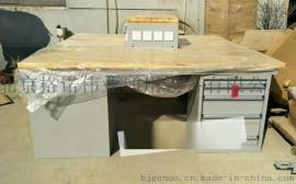 格诺重型实木工作台 钳工榉木工作桌