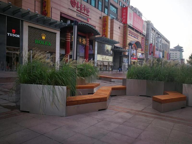 造型不锈钢户外椅 不锈钢广场休闲凳厂家生产