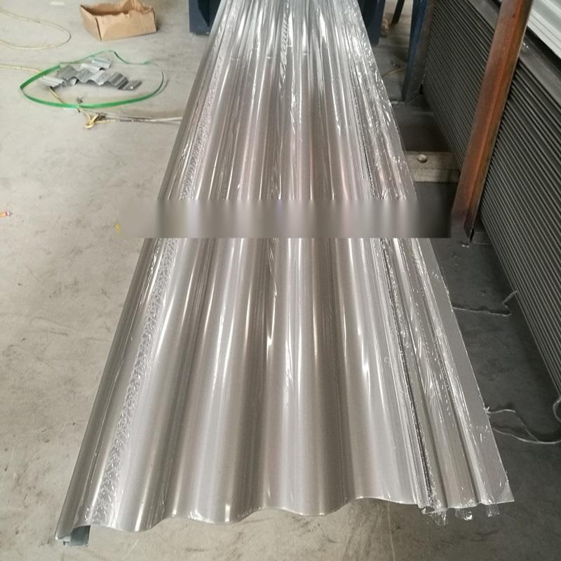 圓拱形波紋板 圓弧形波浪板 鋁鎂錳波紋牆板