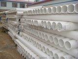 pvc打井管厂家 国标全规格pvc管材
