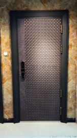 鑄鋁門金屬門甲級鋼制防盜門