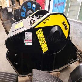 挖机配件设备 挤压式破碎斗 移动式粉碎机 直销