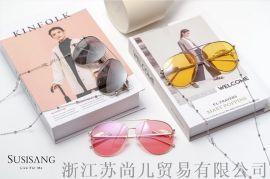 苏尚儿墨镜2019天使防UV太阳镜