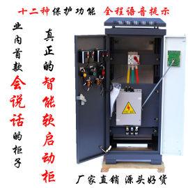 新款水泵软启动柜115KW/千瓦智能软启动控制柜