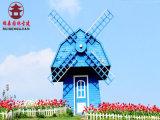 昆明风车厂,公园实木风车设计定制