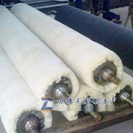 食品吸油涂油棉布辊 皮革厂不锈钢抛光布辊 棉纱辊