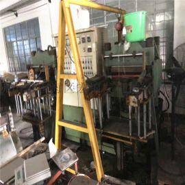 二手双联全自动平板硫化机 自动开模橡胶硫化机