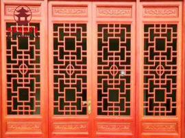 雅安仿古门窗厂家,瑞森仿古门头 中式门窗