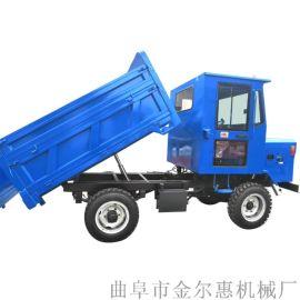 带驾驶室的运输三马子 优质水平自卸式三轮车