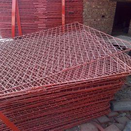 建筑钢笆片 脚手架钢笆片 脚踏钢竹笆