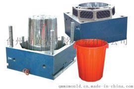 240L垃圾桶塑料模具 超大型垃圾桶开发