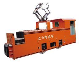 供应**电机车6吨窄轨架线式工矿电机车