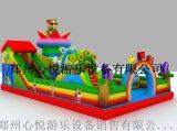 长11米宽7米中小型儿童充气城堡-萌宠乐园
