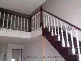实木楼梯钢木楼梯楼梯 玻璃护栏扶手