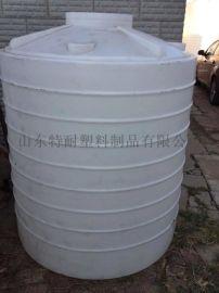 山东特耐3吨塑料桶3吨混凝土外加剂储罐耐寒水塔