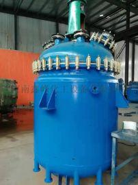 2000升搪瓷反应釜,电加热搪瓷反应罐