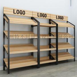 苏州木质展柜制作 食品展示架 货架
