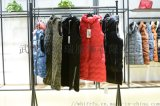 品牌折扣剪標女裝走份艾格18年冬裝新款羽絨服大衣