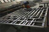 河南仿古鋁窗花 熱轉印木紋鋁窗花 定製鋁窗花廠家