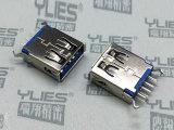 504-USB连接器 3.0母座180度