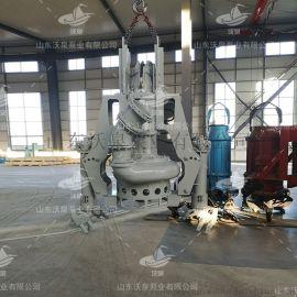 挖机液压渣浆泵 河道清淤泵 高效耐磨排污泵