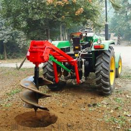 新款50直径电线杆挖坑机多功能钻坑机