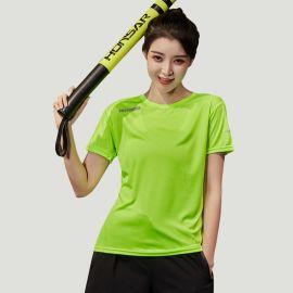 2020夏季新款圆领短袖t恤女透气速干上衣休闲跑步健身运动服女装