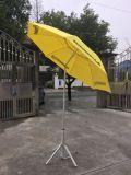 彎頭陽傘沙灘傘帶轉向遮陽傘戶外太陽傘生產廠家