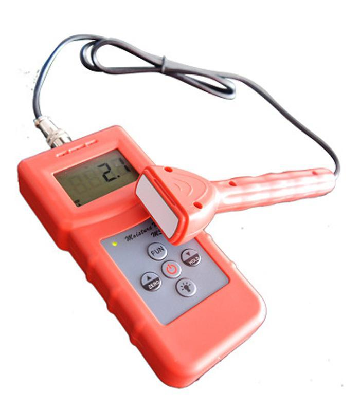 供應泡沫海綿微水測試儀MS310-S   分體小探頭紙箱紡織快速水分計