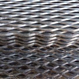 金屬衝壓鋼板網 重型鋼板網片 防滑衝壓菱形鋼板網