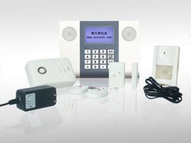 无线报 器, 智能语音型电话/LCD拨号报 系统F型(BJQ-001F)
