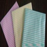 供應出口白色及印花水刺無紡布抹布_洗碗巾_定製清潔抹布生產