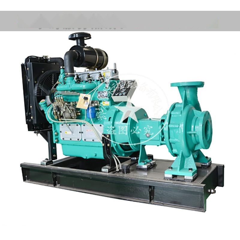 柴油机水泵离心泵自吸泵代替电机博山消防柴油机水泵防汛抗旱鲁柴