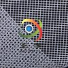 2000D网格布,5cm大方格PVC塑胶网