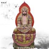 祭祀宗教佛像十八罗汉塑像 雕塑彩绘 豫莲花