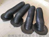 尼龙复合布油缸防护罩 沧州嵘实油缸防护罩