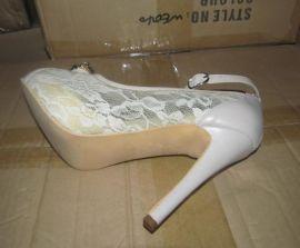 欧洲站时尚女鞋定做加工鞋厂