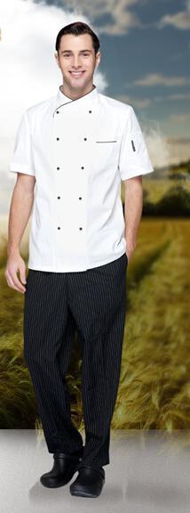 2020厂家直销定做酒店厨师工作服