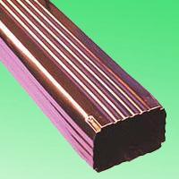 8寸彩铝天沟定制 铝合金天沟 金属天沟