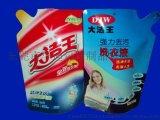 东莞华迪包装供应500ml品牌洗衣液自立包装袋广东洗衣液厂家