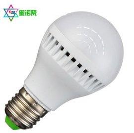 【星诺梵】厂家直销LED塑料球泡灯 灯泡 商业照明 家居灯饰