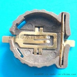 贴片电池座CR1220-2温控器显示板专用电池座