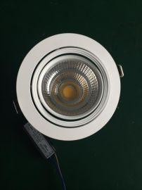服装店商场照明家居室内照明灯具万向COB天花射灯